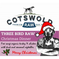 Christmas Dinner - Three Bird Raw - 500g